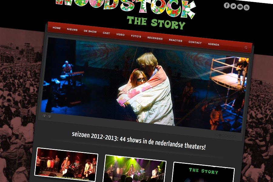 Website Woodstock the Story