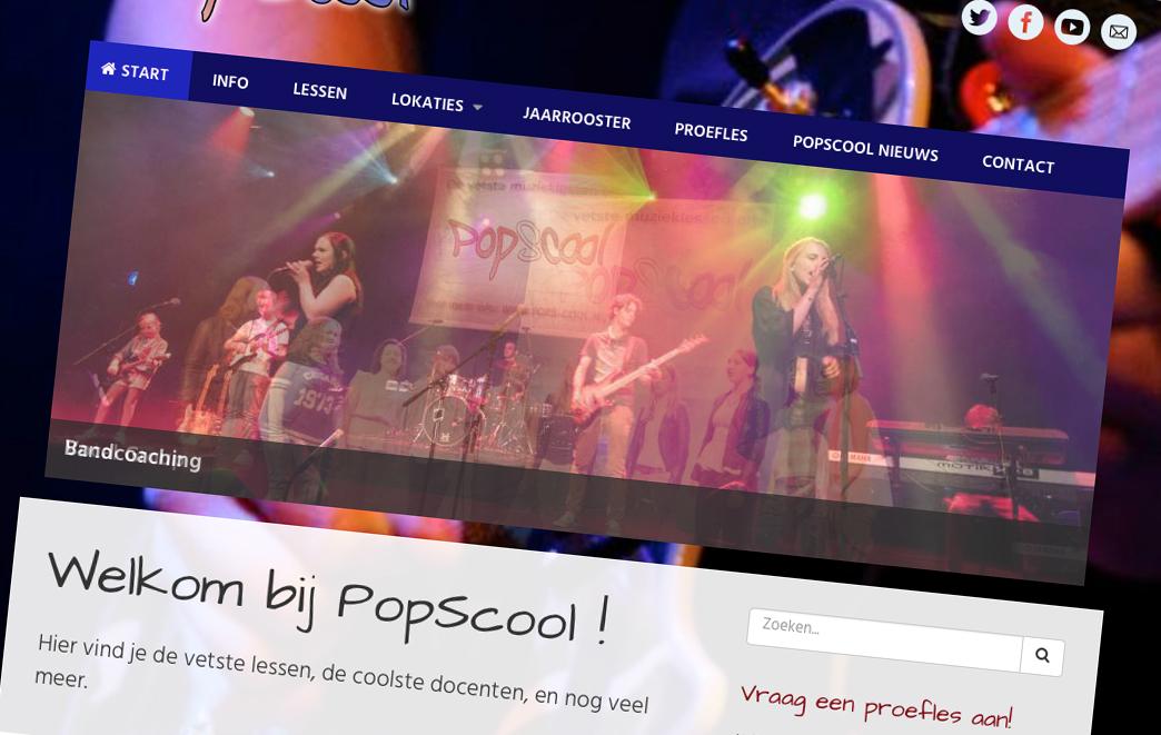 Website PopScool